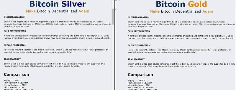 Bitcoin silver vs bitcoin gold kryptomagazin bitcoin silver vs bitcoin gold ccuart Choice Image