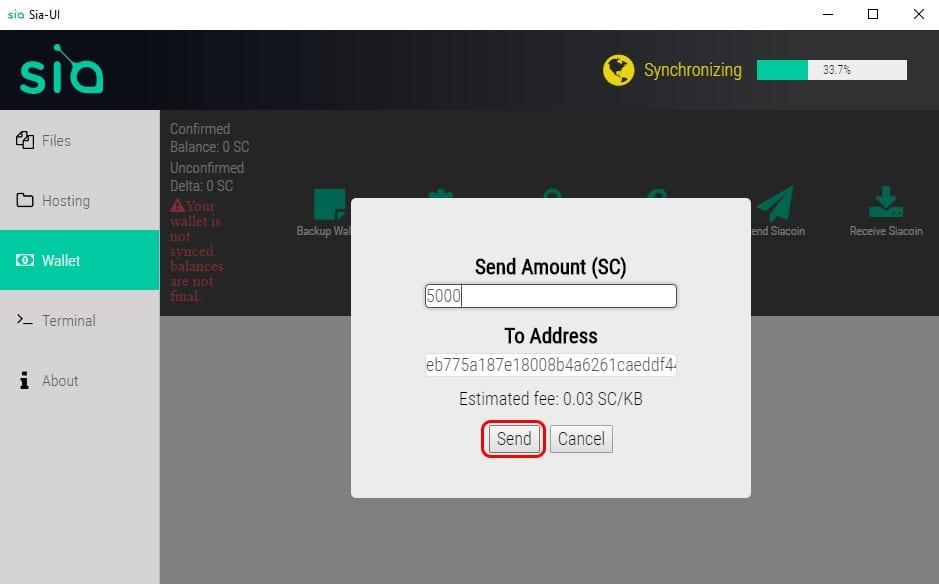 Sia, [NÁVOD] Najbezpečnejšia Siacoin Wallet