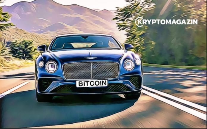 auto, Chcete luxusné auto? Pripravte si Bitcoiny