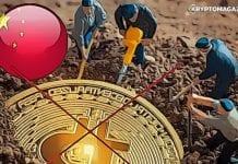 cina bitcoin mining ban