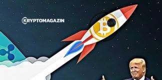 správy, trump btc, moon, raketa