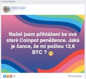 coinpot oznam facebook faucet