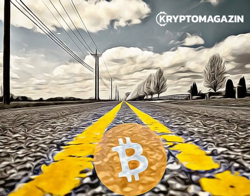 Bitcoin, cesta, BTC