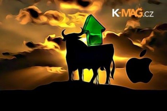 Bitcoin, Bull, apple, Up, býk, býci