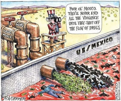 vojna proti drogam mexiko novy zakon dekriminalizacia