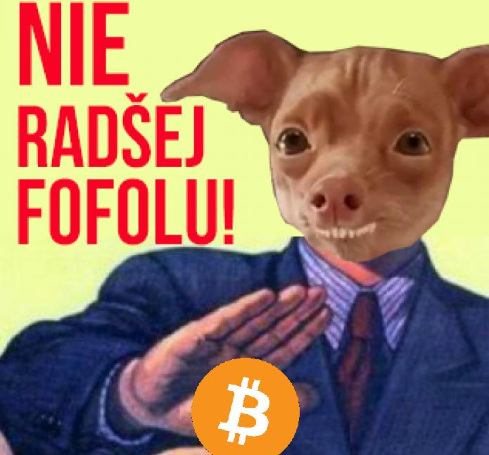 bitcoin nie nechcem odmietnuť