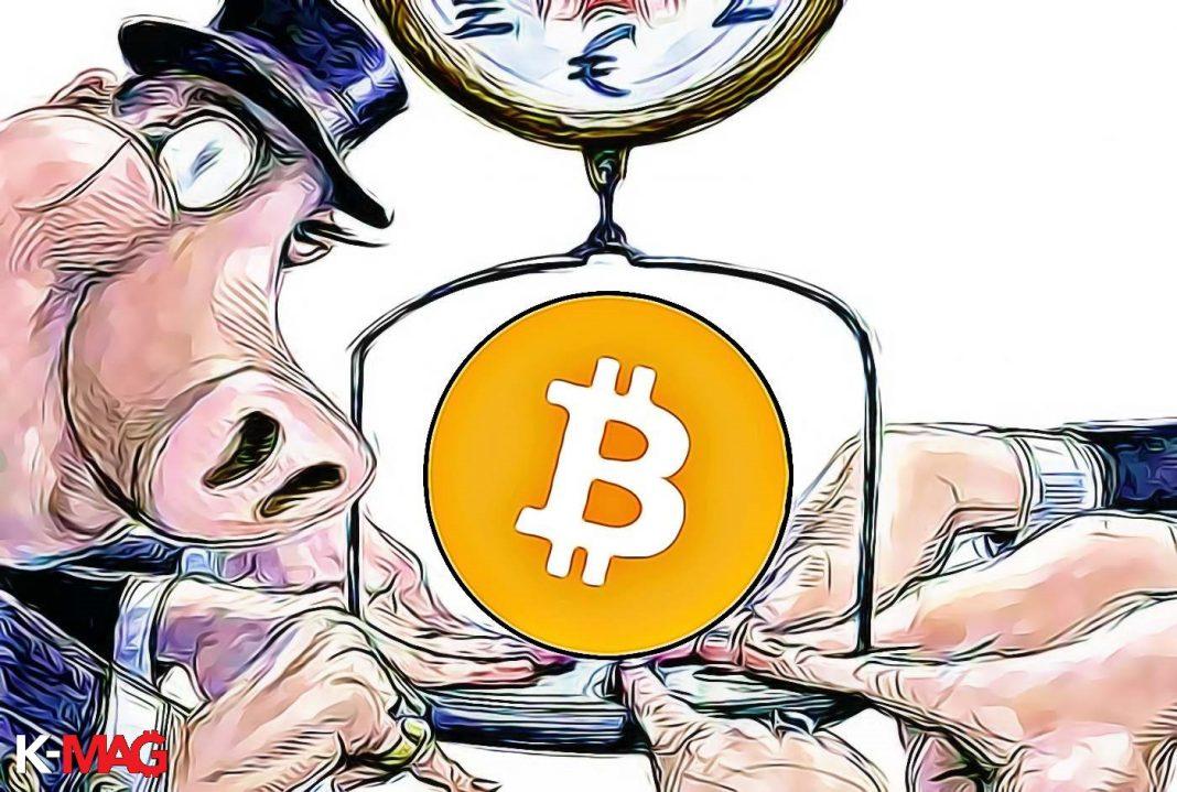bitcoin institucie manipulacia