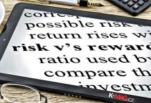 risk, reward, RRR, denník