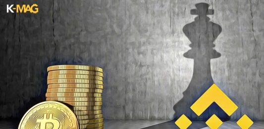 bitcoin dominancia kral binance