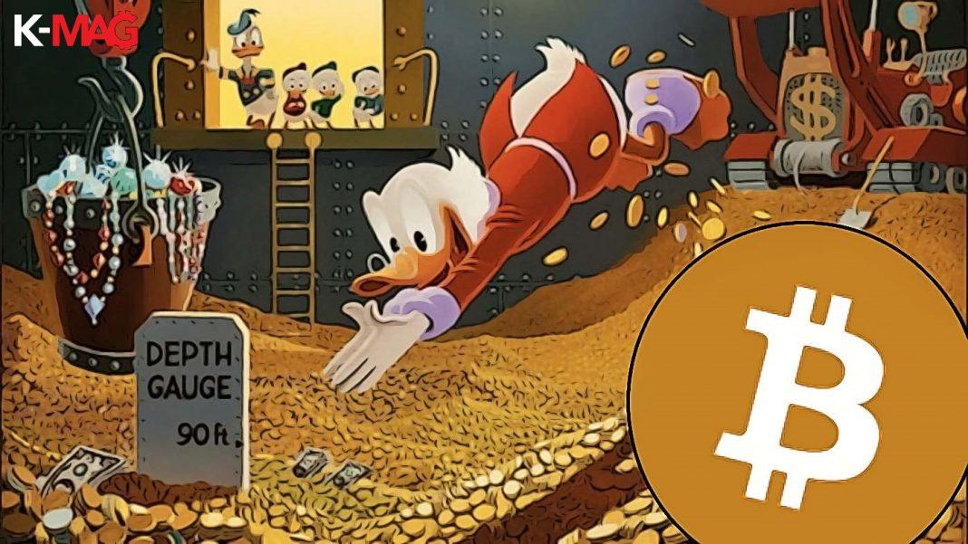 21 miliónov scrooge mcduck bitcoin
