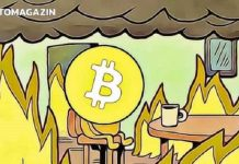Bitcoin BTC fire