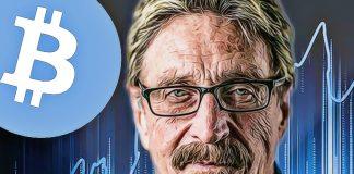 john mcaffee bitcoin predikcia 1 milion dolarov