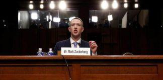 mark zuckerberg americky kongres libra