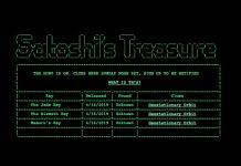 Satoshi Treasure hra