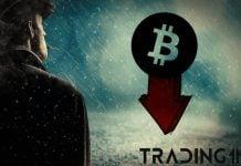 BTC-Bitcoin-downtrend-prepad-cena-depresia