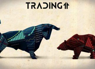 Bitcoin býk medveď BTC kryptomeny bear bull