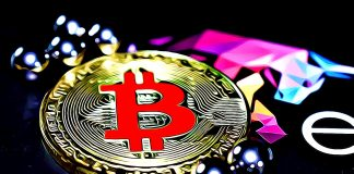 bitcoin cervena pad prepad