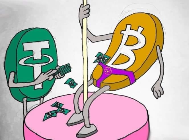 bitcoin tether bitch