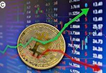 Porovnanie vývoja indexu S & P 500 a Bitcoinu