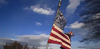 usa vlajka ekonomika recesia kriza