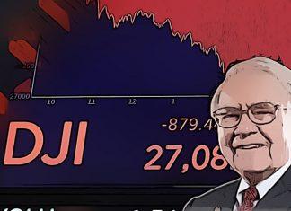 warren biffett padajúci trh s akciami
