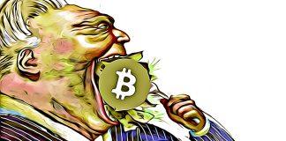 institucie chamtivost bitcoin