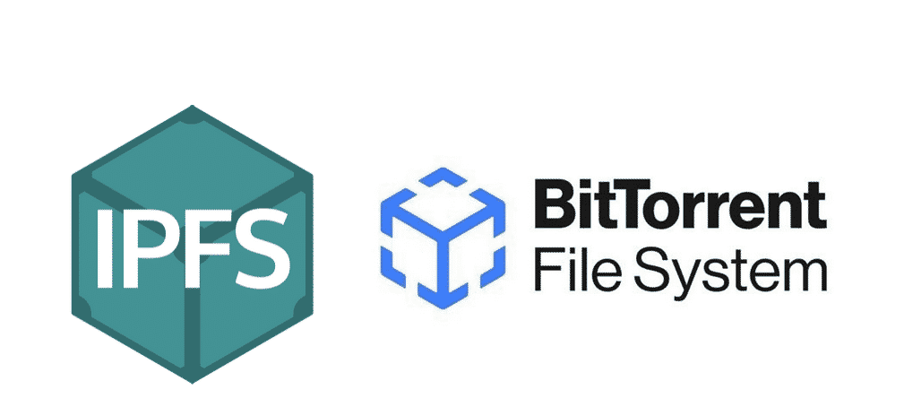 IPFS vs. BitTorrent logo
