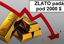 prepad zlata pod 2000 $