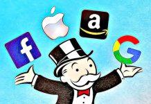 apple facebook google amazon monopoly