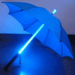 Dáždnik a svetelný meč - aliexpress