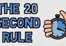 20 sekundove pravidlo zbavte sa lenivosti a prokrastinacie