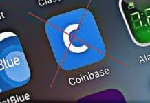 Výpadky burzy Coinbase