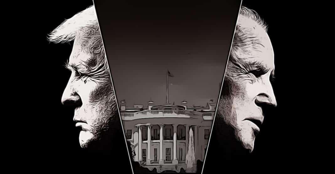 trump vs. biden americke volby