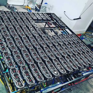 Takto vyzerá mining rig za takmer 100 000 $