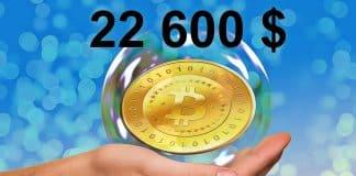 Bitcoin na ath 22 600