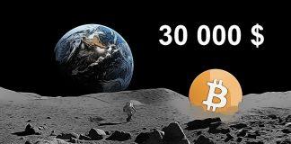 Bitcoin 30 000 $ moon