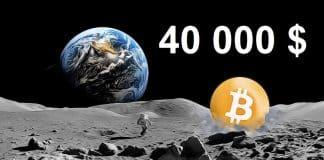 Bitcoin 40 000 $