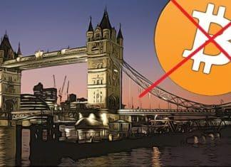 Zakaz Bitcoinu vo Velkej Britanii