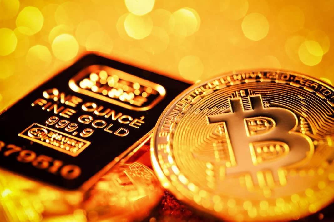BTC vs. zlato
